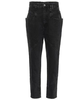 Isabel Marant Nadeloisa high-rise straight jeans
