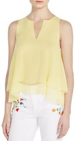 Tory Burch Alexandra Tiered Silk Top