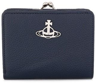 Vivienne Westwood Orb Clasp Closure Wallet