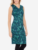 The Limited Printed Sleeveless Sheath Dress