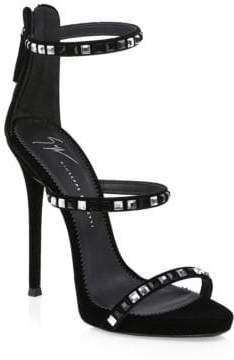 Giuseppe Zanotti Studded Stiletto Sandals