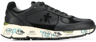 Premiata Low-Top Leather Sneakers