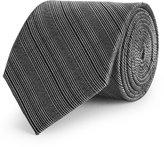 Reiss Fink - Silk Patterned Tie in Grey, Mens