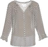 Velvet by Graham & Spencer Selda printed blouse