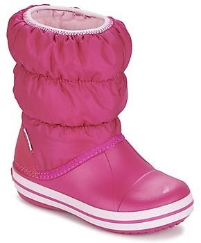 Crocs WINTER PUFF BOOT KIDS girls's Snow boots in Pink