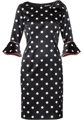 Gina Bacconi Bryna Spot Dress