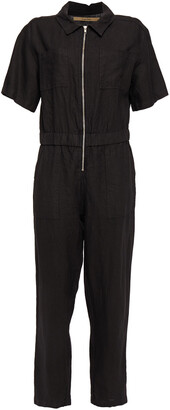 Enza Costa Linen Jumpsuit