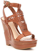 Gianni Bini Jentrie Laser Cut Wedges