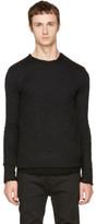 Nude:mm Black Wide Neck T-shirt
