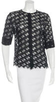 Jenni Kayne Lace Button-Up Top