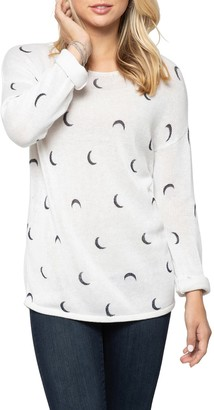 Nic+Zoe Over the Moon Sweater