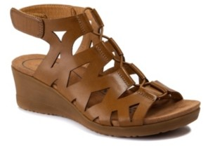 Bare Traps Baretraps Tiney Gladiator Wedge Sandals Women's Shoes