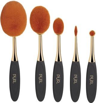 Pur Minerals Sweet 16 Party Essentials 5-Piece Limited-Edition Skin Perfecting Makeup Brush Set