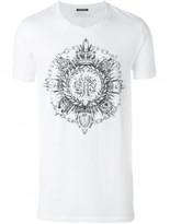 Balmain round crest T-shirt