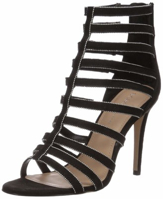 BCBGeneration Women's Jacqueline Caged Sandal Heeled