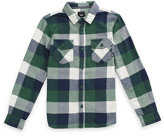 Vans Boys Box Flannel Shirt