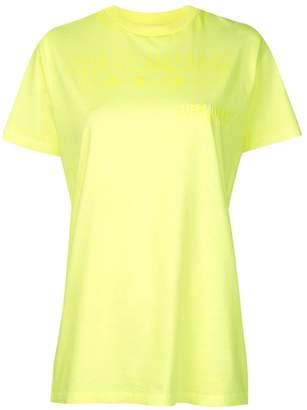 Helmut Lang logo T-shirt