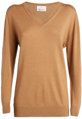 Harrods Cashmere-Silk V-Neck Sweater