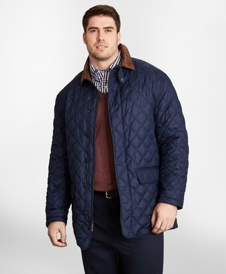 Brooks Brothers Big & Tall Diamond Quilted Jacket