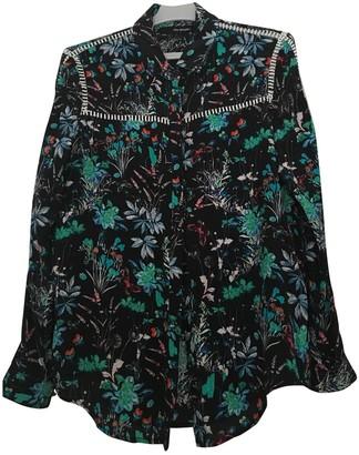 The Kooples Black Silk Top for Women