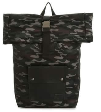 Steve Madden Camo Rolltop Backpack