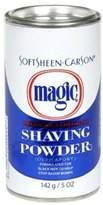 Magic ORIGINAL DEPILATORY) NO RAZOR SHAVING POWDER 127GM STOPS RAZOR BUMPS REGULAR STRENGTH - BLUE by