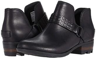 Sorel Lollatm II Strap Stud (Quarry) Women's Boots