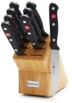 Wusthof Gourmet 9-Piece Steak Knife Block Set