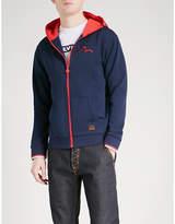 Evisu Daruma cotton-jersey hoody