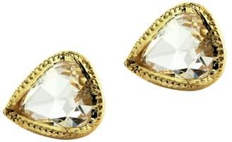 Ila Irina 14K Yellow Gold & Diamond Stud Earrings