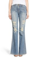 Joe's Jeans Women's 'Collector's - Wasteland' High Rise Destroyed Flare Jeans
