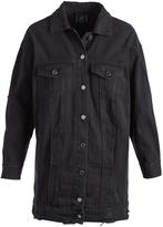 Boom Boom Jeans Black Oversize Denim Jacket