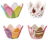 Ecloud Shop® 3 pieces 75 Petal Muffin Cupcake Paper Cases Liners Cups Party