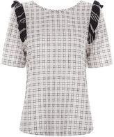 Ace&Jig Trellis Cotton Cheesecloth Fiddle Top
