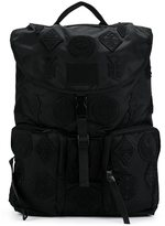 Marcelo Burlon County of Milan patched backpack