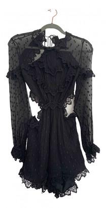 Zimmermann Black Silk Jumpsuits