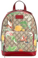 Gucci small GG Tian Supreme backpack - women - Calf Leather/Polyester - One Size
