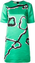Marni scribble print shift dress
