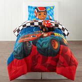 Nickelodeon NickelodeonTM Blaze Fast Track Twin Comforter