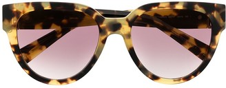 Givenchy Cat-Eye Tortoiseshell Sunglasses