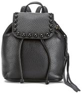 Rebecca Minkoff Women's Micro Unlined Backpack Black