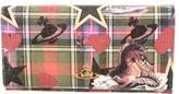 Vivienne Westwood Printed Leather Flap Wallet