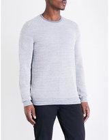 Calvin Klein Textured-knit Cotton-blend Jumper