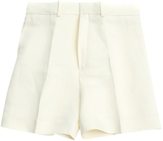 Chloé Ecru Silk Shorts for Women