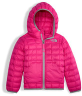 The North Face ThermoBall Hooded Jacket, Pink, Size 2-4T