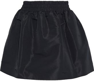 RED Valentino Flared Taffeta Mini Skirt