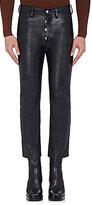Balenciaga Men's Leather Crop Pants