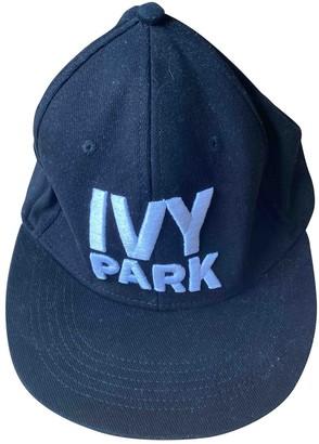 Ivy Park Black Cloth Hats