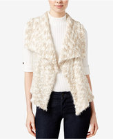 Kensie Faux-Fur Draped Vest