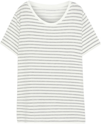 Majestic Filatures Striped French Terry T-shirt